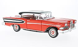Modellino - <strong>Ford</strong> Edsel Citation, rosso/nero, 1960<br /><br />WhiteBox, 1:18<br />n. 221903