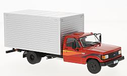 Modellauto - <strong>Chevrolet</strong> D-40 Box Truck, rot/silber, 1985<br /><br />WhiteBox, 1:43<br />Nr. 221998
