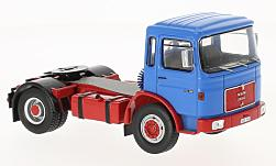 Modelcar - <strong>MAN</strong> 16.320, blue/red<br /><br />IXO, 1:43<br />No. 222068