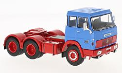 Modelcar - <strong>Henschel</strong> HS 19 TS, blue/red, 1966<br /><br />IXO, 1:43<br />No. 222069