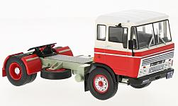 Modelcar - <strong>DAF</strong> 2600, red/white, 1970<br /><br />IXO, 1:43<br />No. 222070