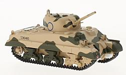 Modellauto - <strong>Military</strong> Sherman Tank Mk III, 10th Armoured Division, 1942<br /><br />Oxford, 1:76<br />Nr. 222235