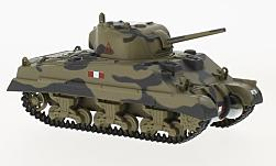 Modellauto - <strong>Military</strong> Sherman Tank Mk III, Koninklijk Scots Greys Italy, 1943<br /><br />Oxford, 1:76<br />Nr. 222236