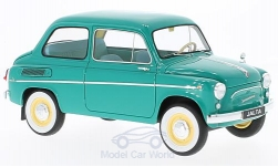 Modellauto - <strong>Saporoshez (ZAZ)</strong> 965AE Jalta, turkoois, Export Versie First Generation, 1963<br /><br />Premium Scale Models, 1:18<br />Nr. 222324