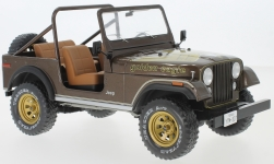 Modellauto - <strong>Jeep</strong> CJ-7 Golden Eagle, metallic-dunkelbraun, 1980<br /><br />MCG, 1:18<br />Nr. 222352