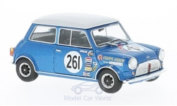 Modellauto - <strong>Mini</strong> Austin Cooper S, RHD, No.261, Team Arden, BTCC, A.Poole, zonder Vitrine, 1969<br /><br />SpecialC.-92, 1:43<br />Nr. 222530