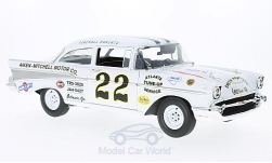voiture miniature - <strong>Chevrolet</strong> Bel air, No.22, Nascar, Darlington, Fireball-Roberts, 1957<br /><br />ACME, 1:18<br />N° 222779
