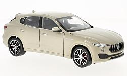 Modellauto - <strong>Maserati</strong> Levante, metallic-beige, 2016<br /><br />Welly, 1:24<br />Nr. 222865