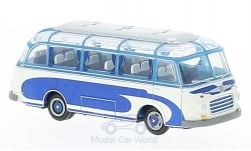 Modellauto - <strong>Setra</strong> S 6, blauw/wit<br /><br />Brekina, 1:87<br />Nr. 222894