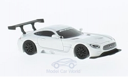 Modelcar - <strong>Mercedes</strong> AMG GT3, white<br /><br />FrontiArt, 1:87<br />No. 223263