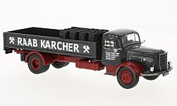 Modelcar - <strong>Mercedes</strong> L 325, Raab Karcher, with material loaded<br /><br />IXO, 1:43<br />No. 223270