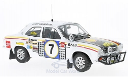 Modellauto - <strong>Ford</strong> Escort MK I RS 1600, No.7, Rallye Safari, H.Mikkola/G.Palm, ohne Vitrine, 1972<br /><br />Triple 9 Collection, 1:18<br />Nr. 223272