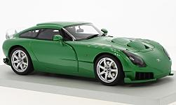 Modelcar - <strong>TVR</strong> Sagaris, metallic-green, RHD, without showcase, 2005<br /><br />Lucky Step Models, 1:18<br />No. 223308