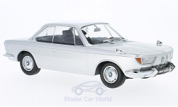 Modelcar - <strong>BMW</strong> 2000 CS, silver, 1965<br /><br />KK-Scale, 1:18<br />No. 223359