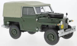 Modelcar - <strong>Land Rover</strong> Lightweight series IIA, olive greeen, RHD, Soft Top, 1968<br /><br />BoS-Models, 1:18<br />No. 223378