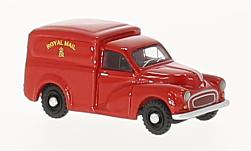 Modellauto - <strong>Morris</strong> Minor Van, Royal Mail, 1960<br /><br />BoS-Models, 1:87<br />Nr. 223382