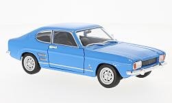 Modelcar - <strong>Ford</strong> Capri I 1600 GT XLR, blue, 1969<br /><br />Welly, 1:24<br />No. 223388