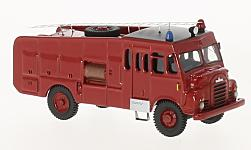 ModelCar - <strong>Bedford</strong> RLHZ Green Goddess, rot, RHD, 1953<br /><br />BoS-Models, 1:87<br />No. 223416