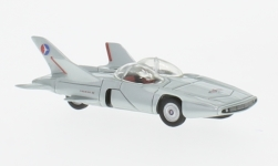 Modellauto - <strong>GM</strong> Firebird III, silber, 1958<br /><br />BoS-Models, 1:87<br />Nr. 223419