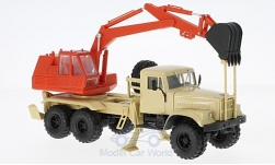 Modellauto - <strong>KrAZ</strong> 255B AO-4421A, beige/rot<br /><br />SpecialC.-81, 1:43<br />Nr. 223451