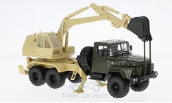 Modellauto - <strong>KrAZ</strong> 260 AO-4421A, dunkeloliv/beige<br /><br />SpecialC.-81, 1:43<br />Nr. 223453