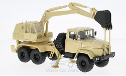 Modellauto - <strong>KrAZ</strong> 6322 AO-4422, beige<br /><br />SpecialC.-81, 1:43<br />Nr. 223459