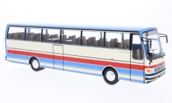 Modellauto - <strong>Setra</strong> S215 HD, beige/rood, 1976<br /><br />IXO, 1:43<br />Nr. 223516