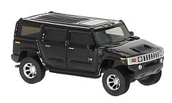 Modellauto - <strong>Hummer</strong> H2, schwarz, 2003<br /><br />BoS-Models, 1:87<br />Nr. 223665