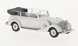 Modelcar - <strong>Mercedes</strong> 770 (W150) Spezial Tourenwagen, light grey, 1938<br /><br />BoS-Models, 1:87<br />No. 223672