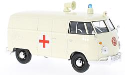 ModelCar - <strong>VW</strong> T1, Ambulance<br /><br />Motormax, 1:24<br />No. 223687