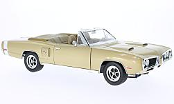 Modelcar - <strong>Dodge</strong> Coronet R/T, gold, 1970<br /><br />Lucky Die Cast, 1:18<br />No. 223694