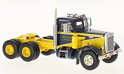Modellauto - <strong>Peterbilt</strong> 351, dunkelblau/gelb, 1961<br /><br />Neo, 1:64<br />Nr. 223720