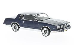 Modellauto - <strong>Chevrolet</strong> Monte Carlo, dunkelblau, 1981<br /><br />Premium X, 1:43<br />Nr. 223757