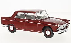Modelcar - <strong>Peugeot</strong> 404, dark red, 1960<br /><br />WhiteBox, 1:24<br />No. 223834
