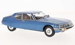 Modelcar - <strong>Citroen</strong> SM, metallic-blue, 1970<br /><br />WhiteBox, 1:24<br />No. 223835