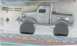Modellauto - <strong>Military</strong> 1/2 Ton 4 x 4, zilver, 1941<br /><br />Greenlight, 1:64<br />Nr. 223925