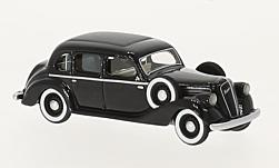 Modelcar - <strong>Skoda</strong> superb 913, black, RHD, 1938<br /><br />BoS-Models, 1:87<br />No. 224145