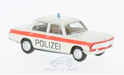 Modellauto - <strong>BMW</strong> 2000, wit/oranje, Politie Solothurn<br /><br />Brekina, 1:87<br />Nr. 224195