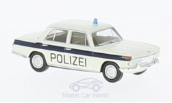 Modellauto - <strong>BMW</strong> 2000, wit/blauw, Politie Solothurn<br /><br />Brekina, 1:87<br />Nr. 224196
