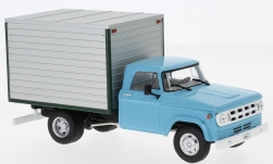 Modellauto - <strong>Dodge</strong> D-400 Box Van, hellblau/grau, 1971<br /><br />WhiteBox, 1:43<br />Nr. 224224