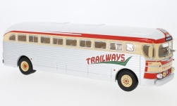 автомодель - <strong>GMC</strong> PD-3751, Trailways, 1955<br /><br />IXO, 1:43<br />№ 224288