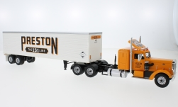 Modelcar - <strong>Peterbilt</strong> 350, Preston People, 1952<br /><br />IXO, 1:43<br />No. 224299