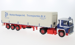 Modellauto - <strong>Scania</strong> LBT 141, Wolter Koops (NL), 1976<br /><br />IXO, 1:43<br />Nr. 224300
