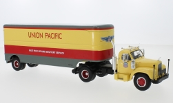 Modelcar - <strong>Mack</strong> B 61, Union Pacific, 1955<br /><br />IXO, 1:43<br />No. 224301