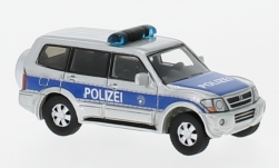 Modellauto - <strong>Mitsubishi</strong> Pajero, Polizei, 2003<br /><br />BoS-Models, 1:87<br />Nr. 224481