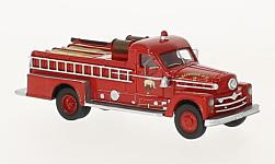 Modelcar - <strong>Seagrave</strong> 750 Fire engine, red, 1958<br /><br />BoS-Models, 1:87<br />No. 224484