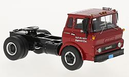 Modelcar - <strong>GMC</strong> Steel Tilt Cab, red, towing vehicle, 1960<br /><br />Neo, 1:64<br />No. 224706