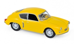 Modellauto - <strong>Alpine Renault</strong> A106, geel, 1956<br /><br />Norev, 1:43<br />Nr. 224809