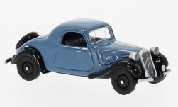 Modelcar - <strong>Citroen</strong> traction Avant faux Convertible, light blue/black, 1936<br /><br />BoS-Models, 1:87<br />No. 224814