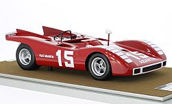 Modellauto - <strong>Abarth</strong> 2000 SP, No.15, 500km Nürburgring, K.Ahrens Jr., 1970<br /><br />Tecnomodel, 1:18<br />Nr. 225106